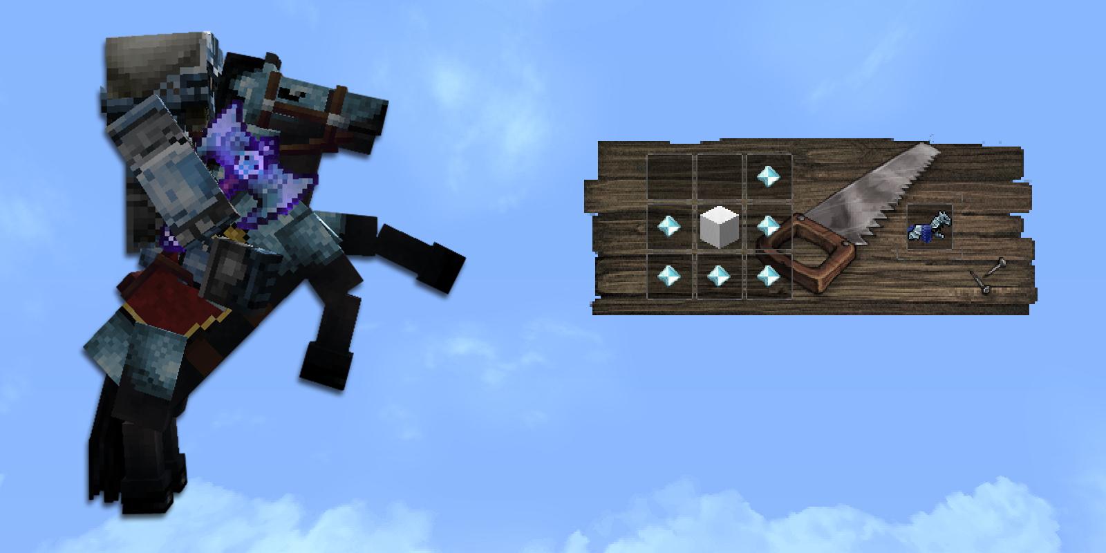 Horse Armor Crafting Recipe Minecraft