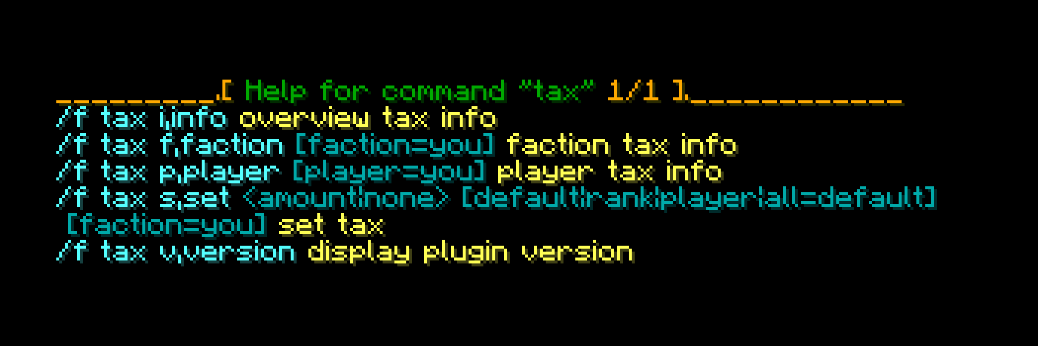 factionstax-command-basecommand