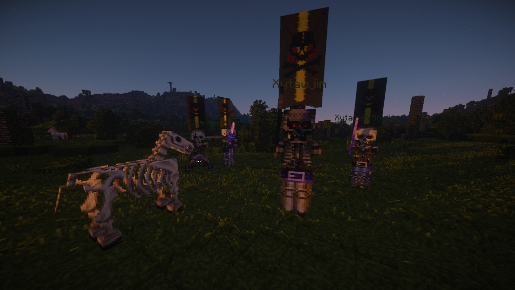 Custom mobs and creatures.